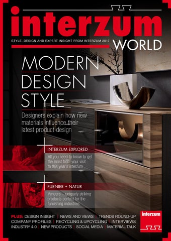 Interzum World 2017 Show Magazine By Worldshowmedia Issuu