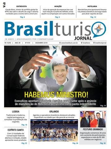 Brasilturis Ed. 819 - Dezembro by Editora Via - issuu 5854f2c2488b4