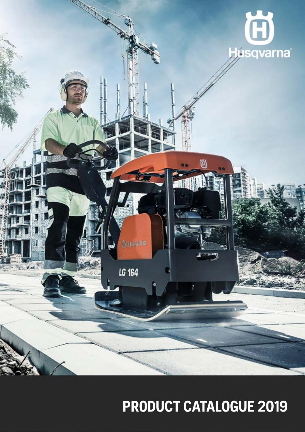 INT) 2019 Product Catalogue - Husqvarna Construction
