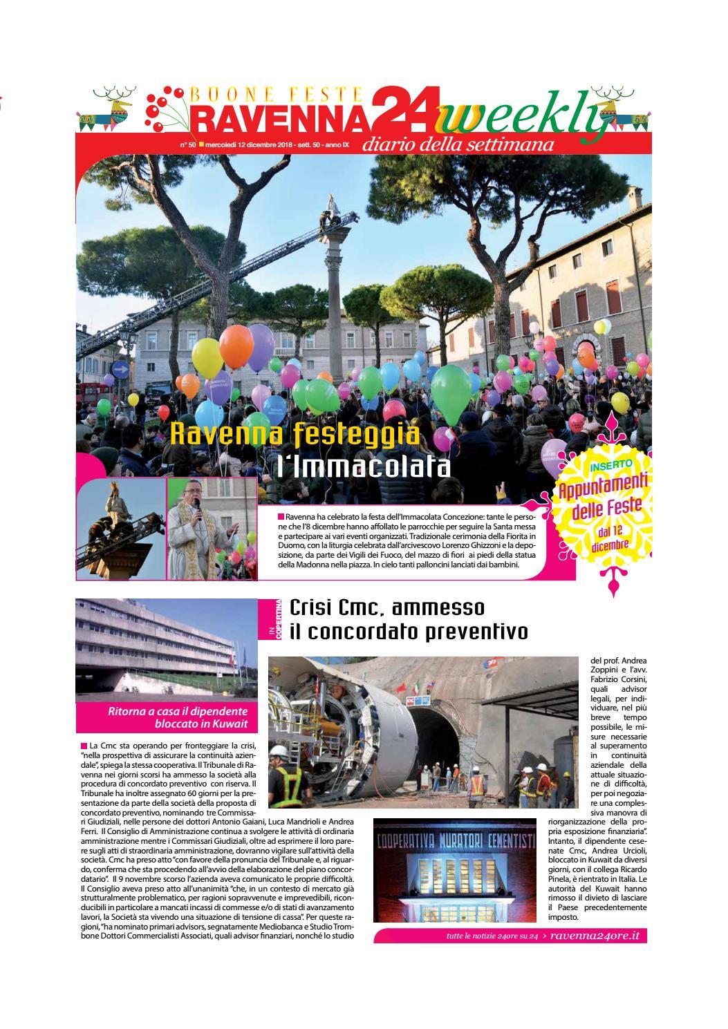 Mazzo Di Fiori Sperlari.Ravenna24weekly 12 Dicembre 2018 By Ravenna24weekly Issuu