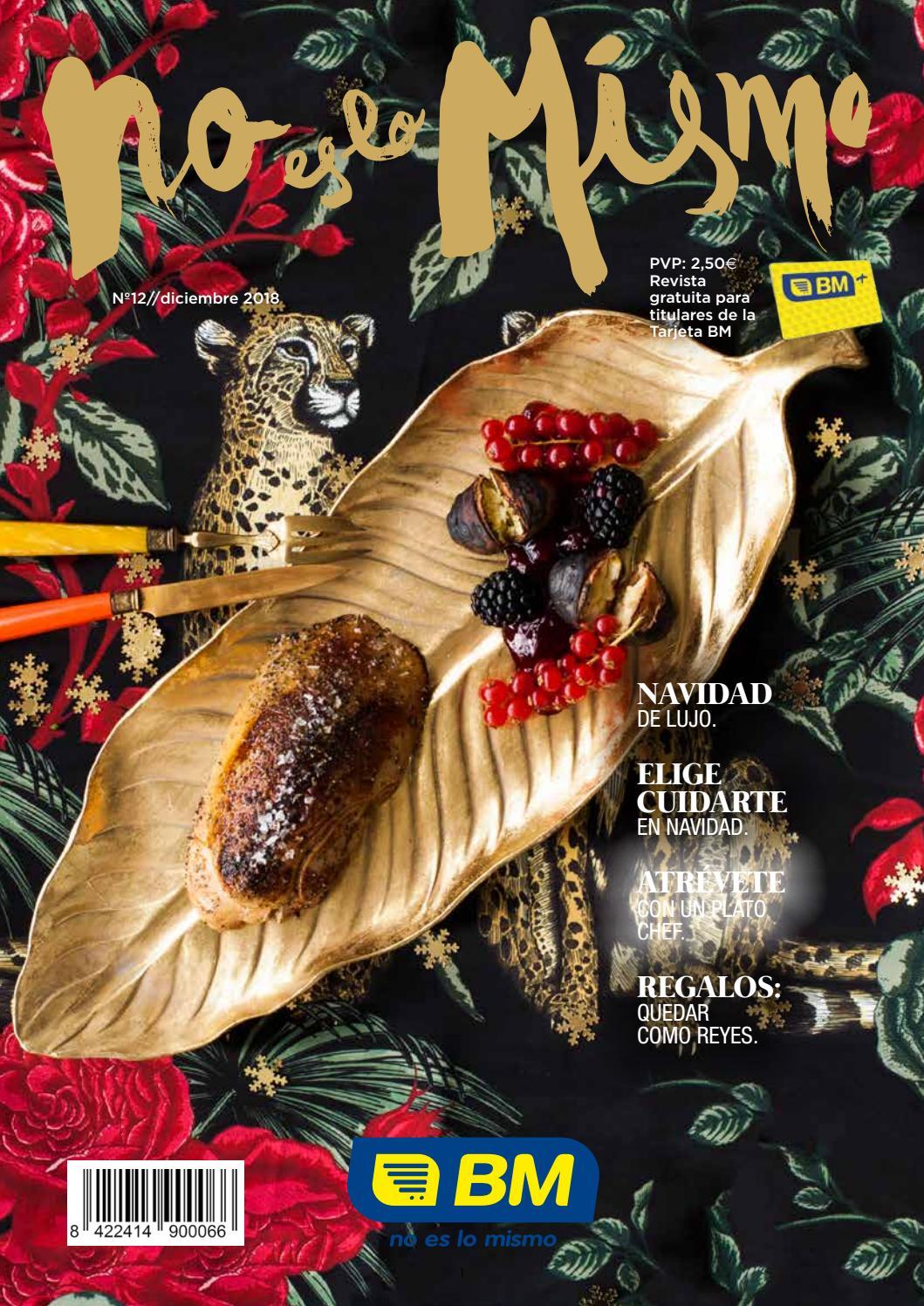 Como Decorar Una Carniceria En Navidad.Revista Bm No Es Lo Mismo Especial Navidad Nº12 By