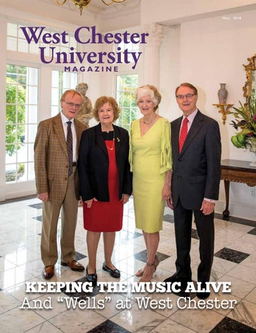 West Chester University Magazine Fall 2018 by West Chester