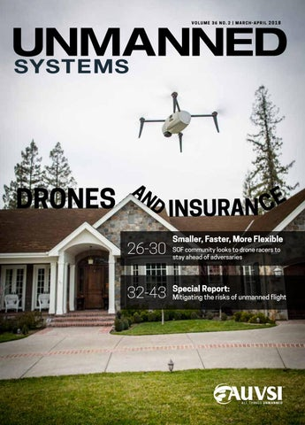 Unmanned Systems magazine: March/April 2018 by AUVSI Unmanned