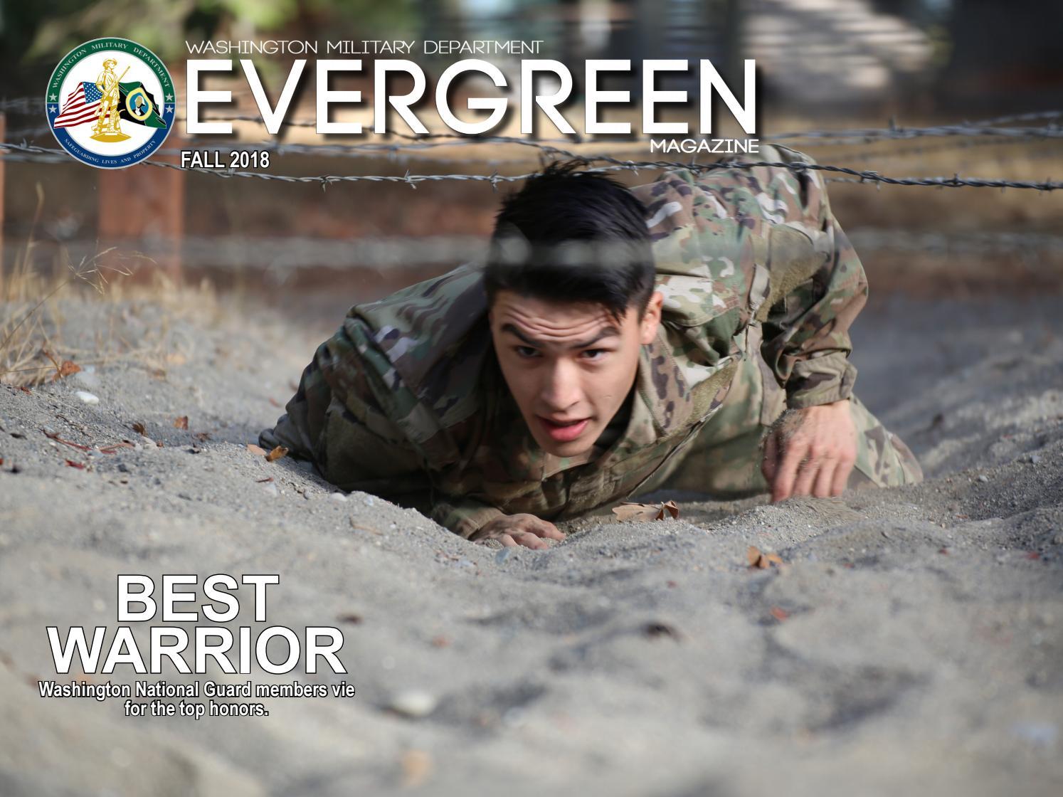 Evergreen Magazine Fall edition by Washington Military