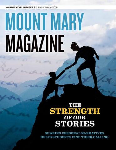 Mount Mary Magazine Fall 2018 by Mount Mary University - issuu on university of mary campus map, mount mary campus mail, marquette university map, mount st. mary's university, mount mary college milwaukee,