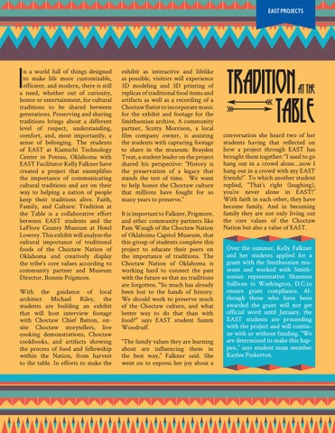 Page 5 of Tradition at the Table