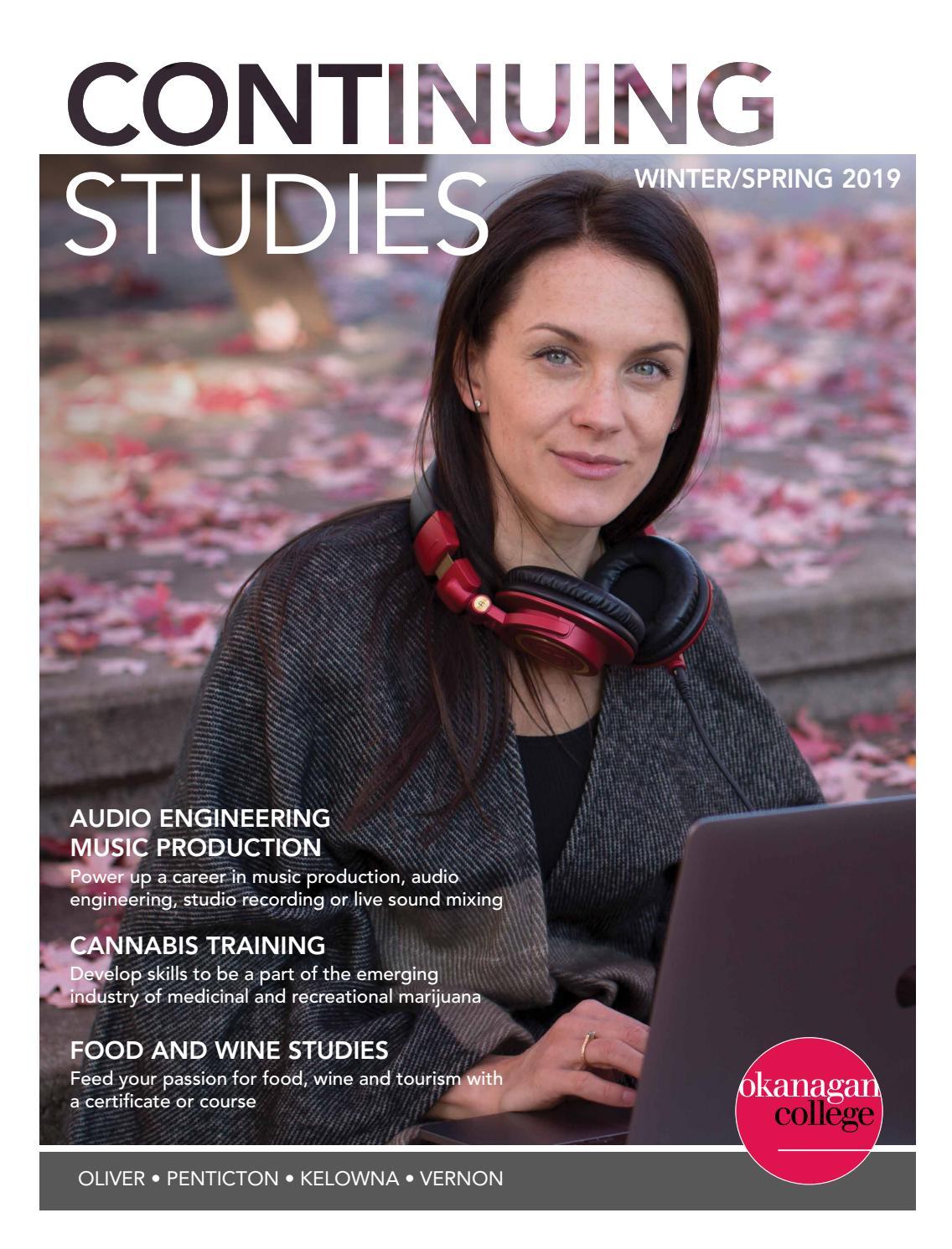 Okanagan College Continuing Studies Winter/Spring 2019
