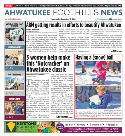 b40a235e3b Ahwatukee Foothills News - December 12, 2018 by Times Media Group ...