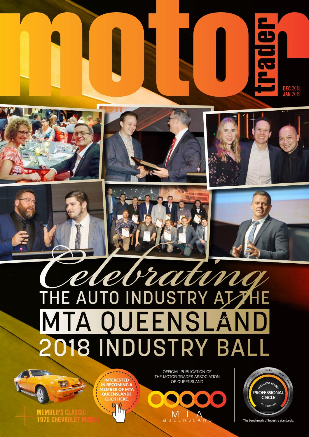 Motor Trader e-magazine Dec 2018 to Jan 2019 by MTAQ IT - issuu