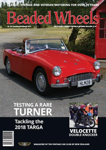 Beaded Wheels Issue 355 December 2018/January 2019 by