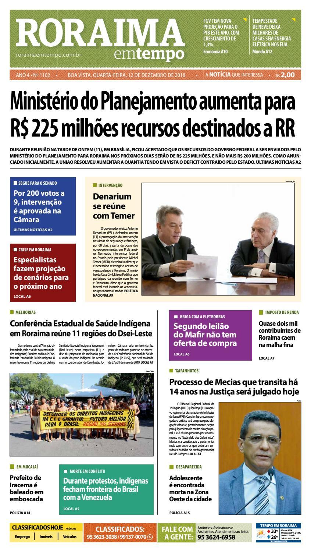 e5e239dad Jornal Roraima em tempo – edição 1102 by RoraimaEmTempo - issuu