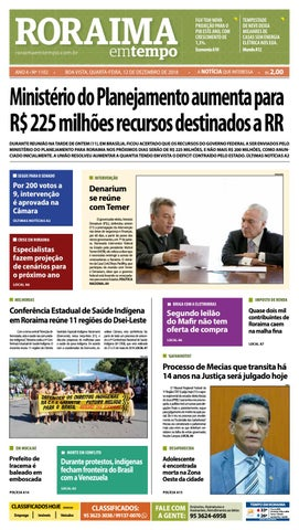 5b7222b1b4564 Jornal Roraima em tempo – edição 1102 by RoraimaEmTempo - issuu