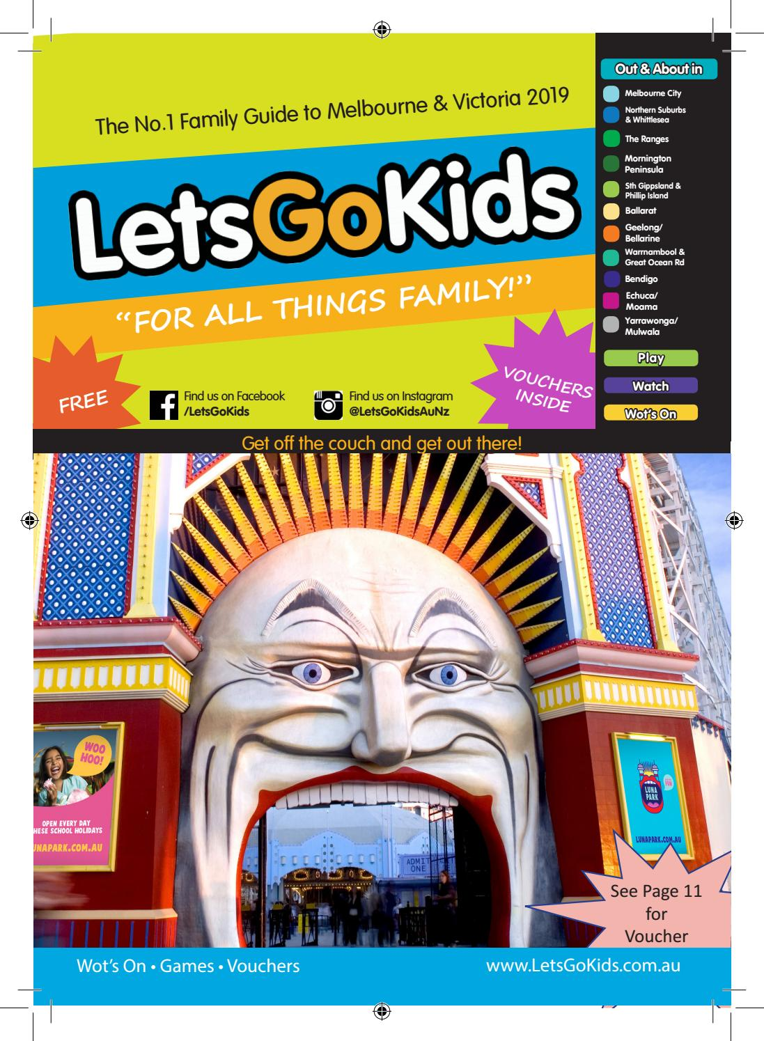 LetsGoKids 2019 Melbourne/Victorian Edition by Terry Wilson