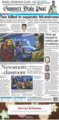 December 12, 2018 — Gwinnett Daily Post by Gwinnett Daily Post - issuu