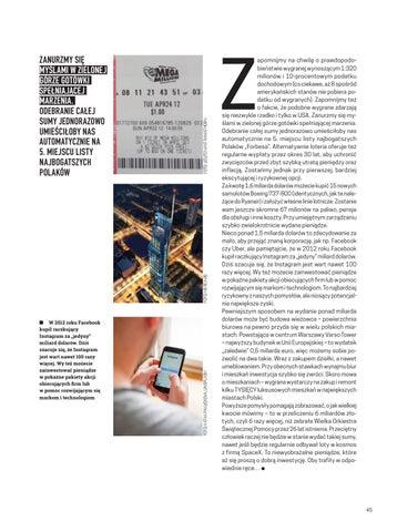 Page 45 of Jak wydać 6 miliardów złotych?