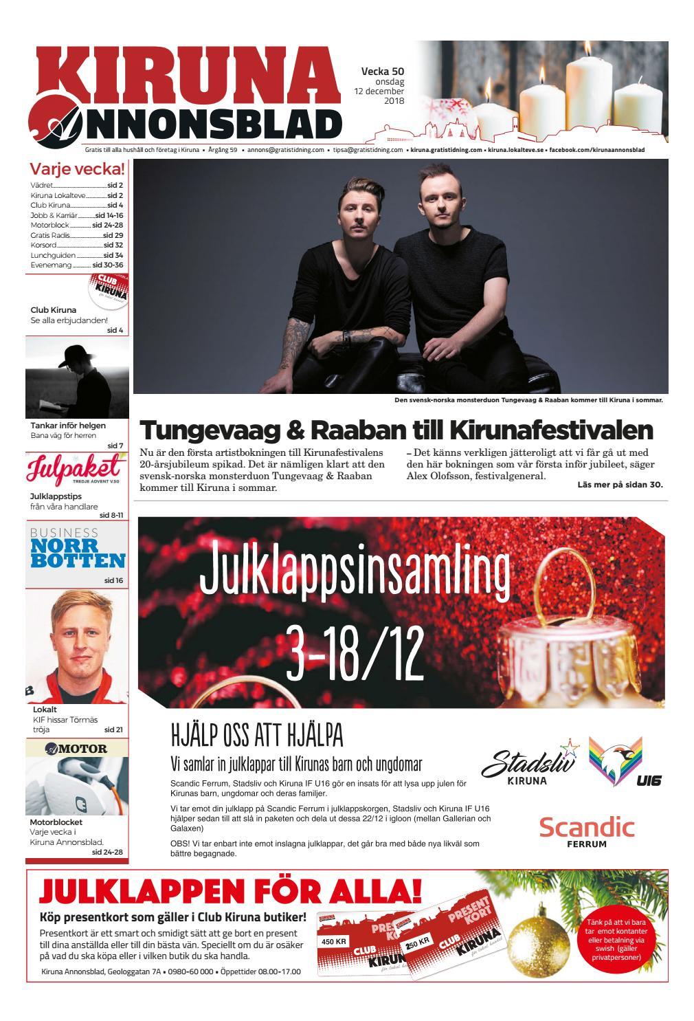 Kiruna Annonsblad vecka 50 7eb942ffd3e84
