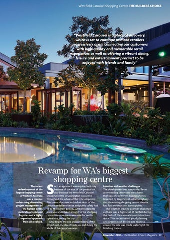 Page 29 of Revamp for WA's biggest shopping centre