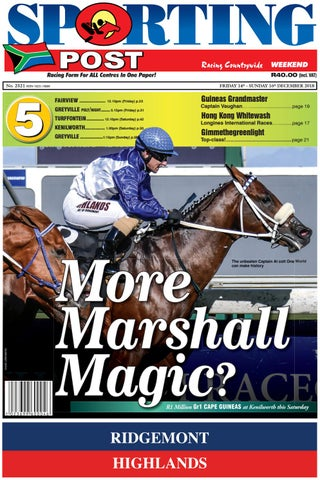 14 16 Dec 2521 Sporting Post By Sporting Post Issuu