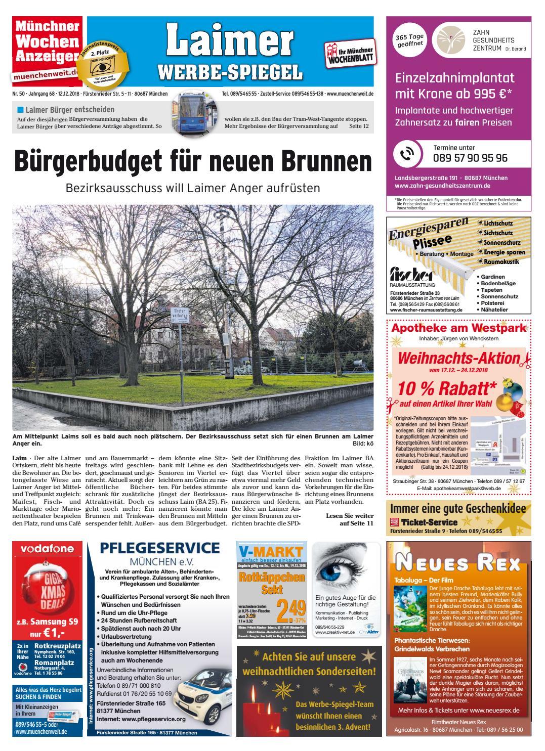 d665ee70beb515 KW 50-2018 by Wochenanzeiger Medien GmbH - issuu