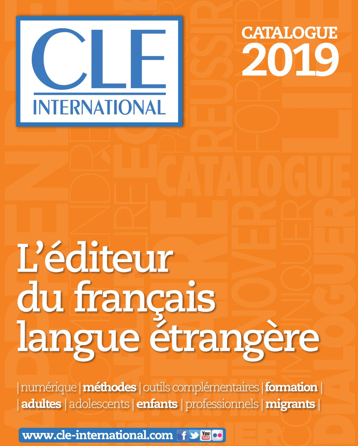 Catalogue Cle International 2019 By Cle International Issuu