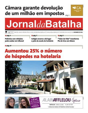 e3892b33c JORNAL DA BATALHA EDIÇÃO DE NOVEMBRO 2018 by Jornal Batalha - issuu
