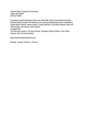Hobbs NM Digital Publication - Town Square Publications