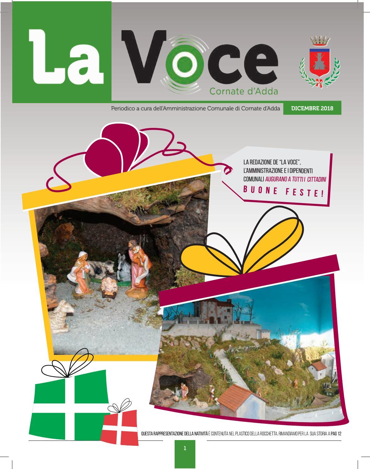 La Voce di Cornate d Adda - Dicembre 2018 by Comune di Cornate d Adda -  issuu c9155e074c3