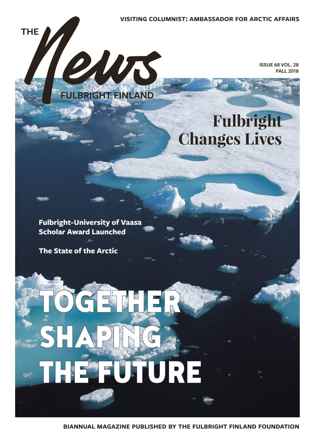 Fulbright Finland News 2 2018 By Fulbright Finland Issuu