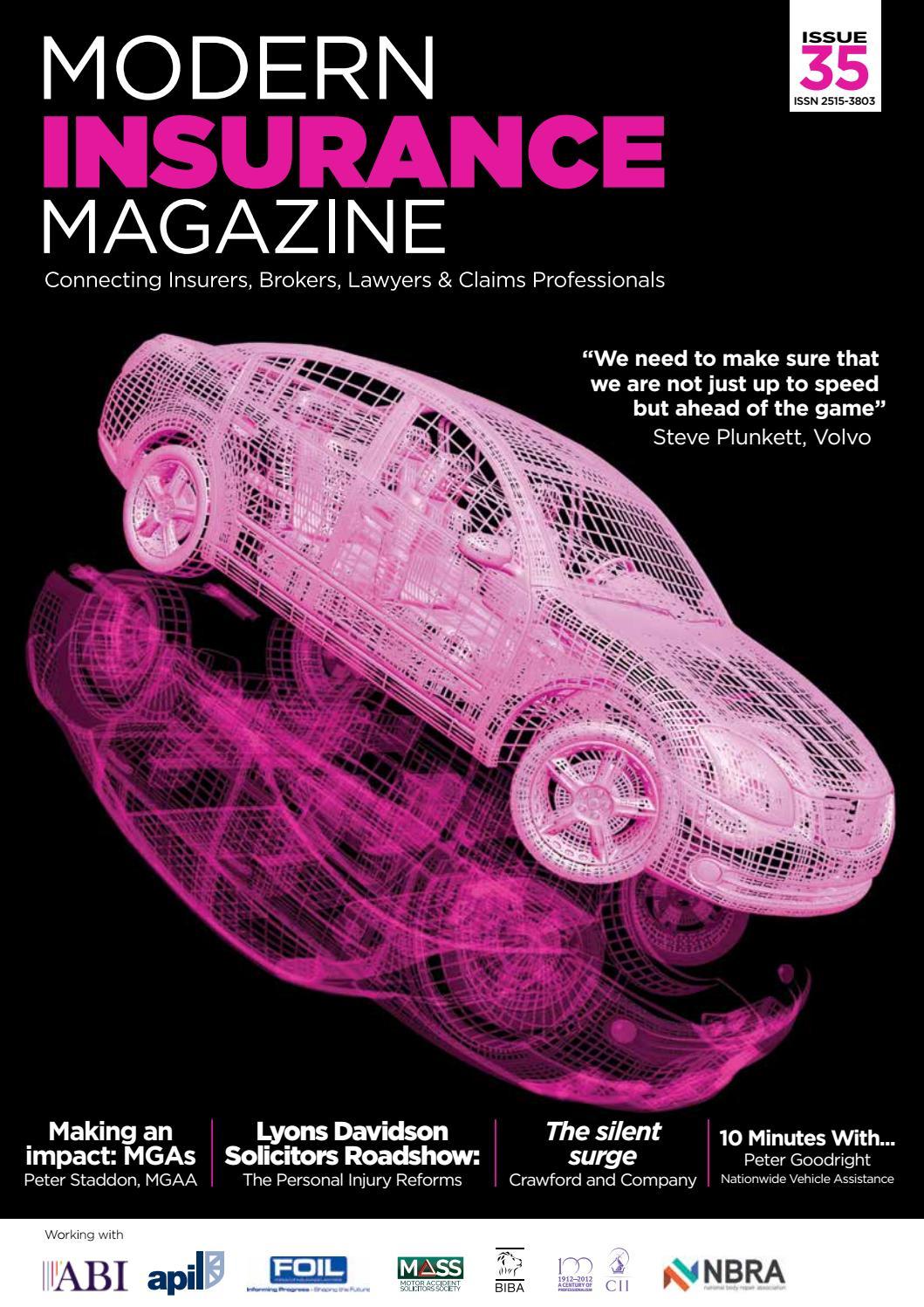 Modern Insurance Magazine Issue 35 by Charlton Grant - issuu