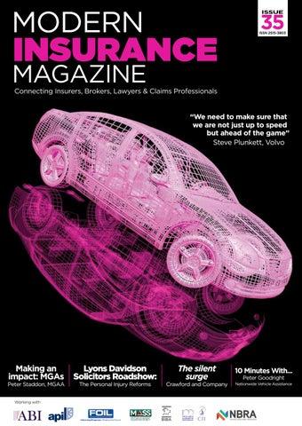 Modern Insurance Magazine Issue 35 By Charlton Grant Issuu
