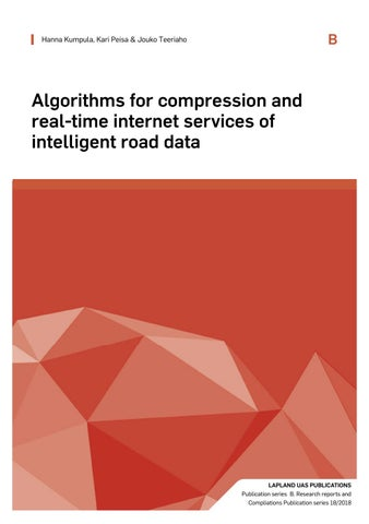 Algorithms for compression and real-time internet services