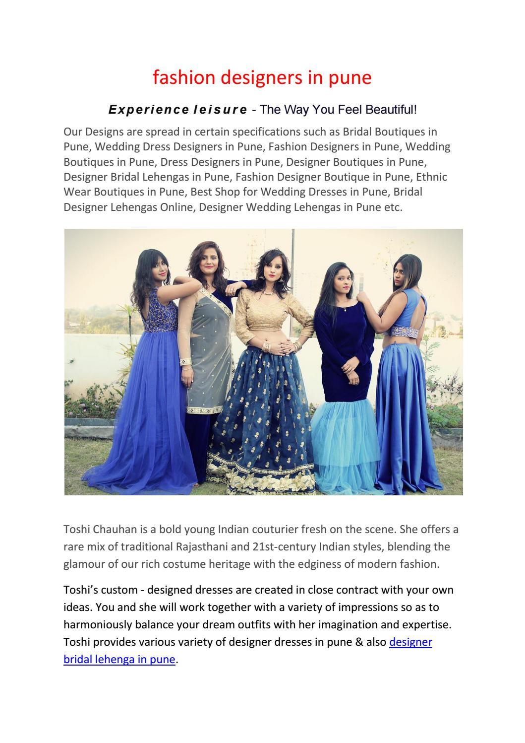 5e10143022d8 Best Shops For Wedding Dresses In Pune
