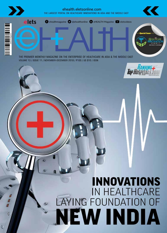 eHealth Magazine November Issue by eHealth Magazine - Elets