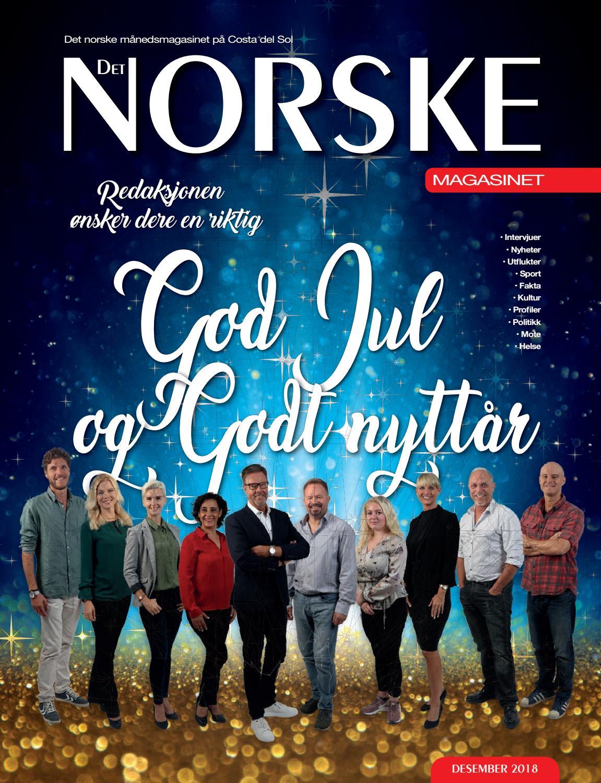 ac49df19 Det Norske Magasinet Desember 2018 by Norrbom Marketing - issuu