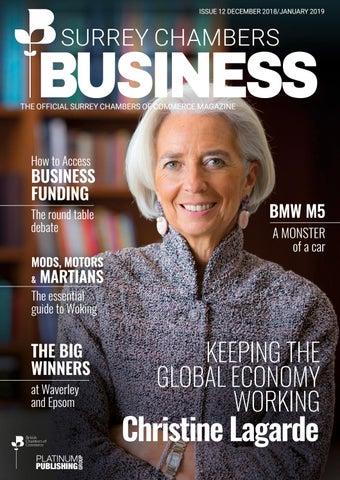 Surrey Chambers Business Magazine – issue 12 by Platinum