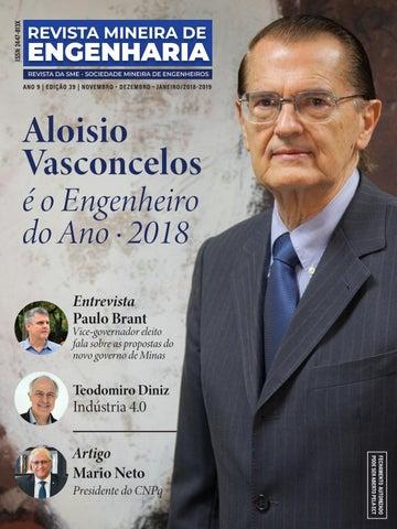 a5a9f7bd149f7 Revista Mineira de Engenharia - Edição 39 by Revista SME - issuu
