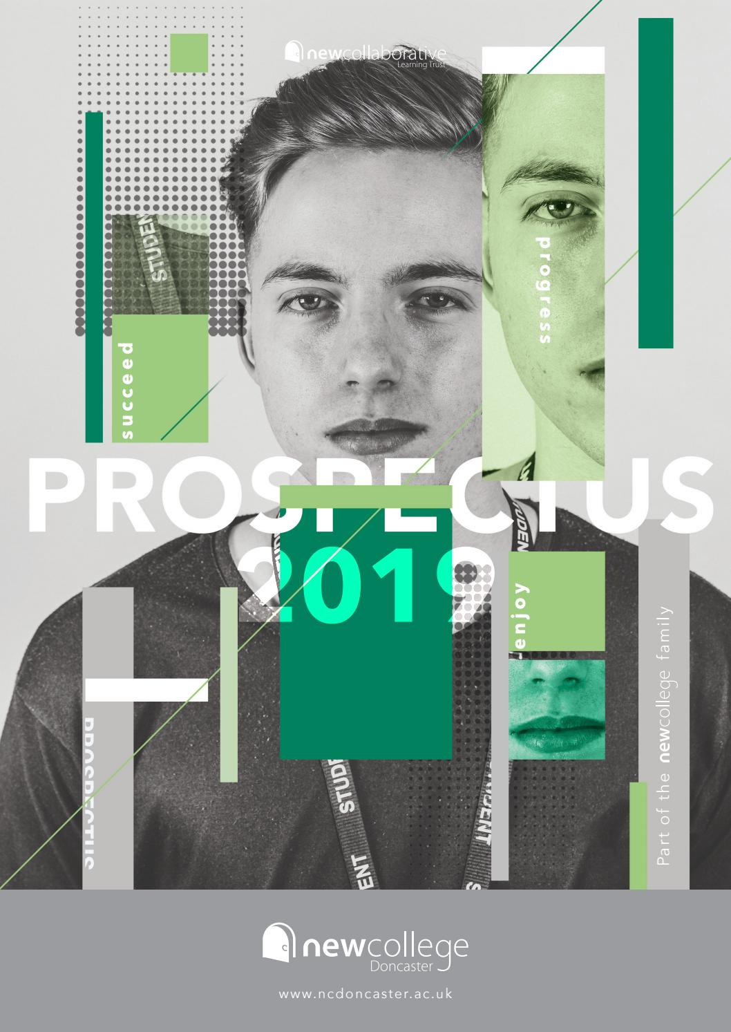 New College Doncaster Prospectus 2019 By New College Issuu
