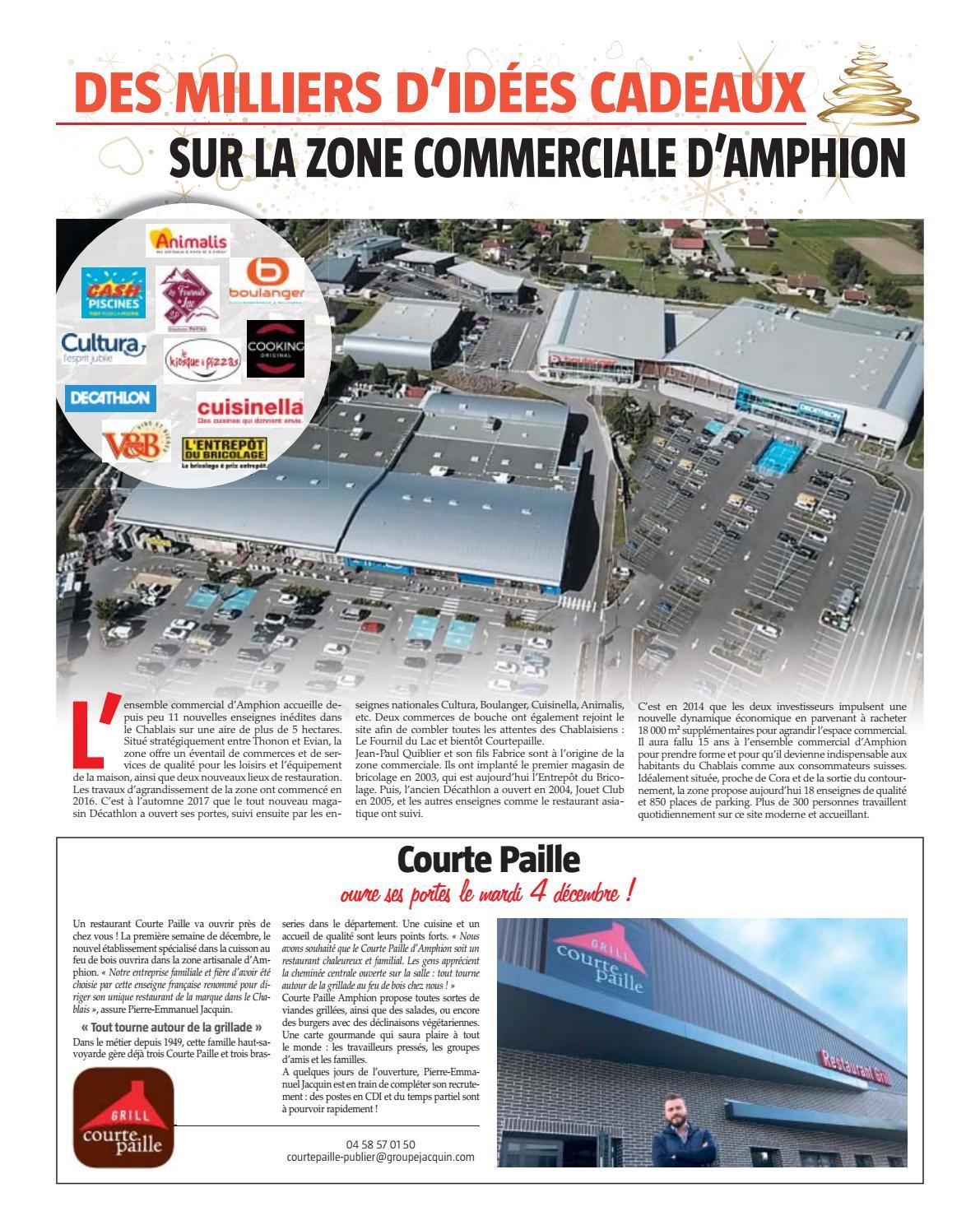 Meuble De Cuisine Decathlon zone commerciale d'amphionle messager - issuu