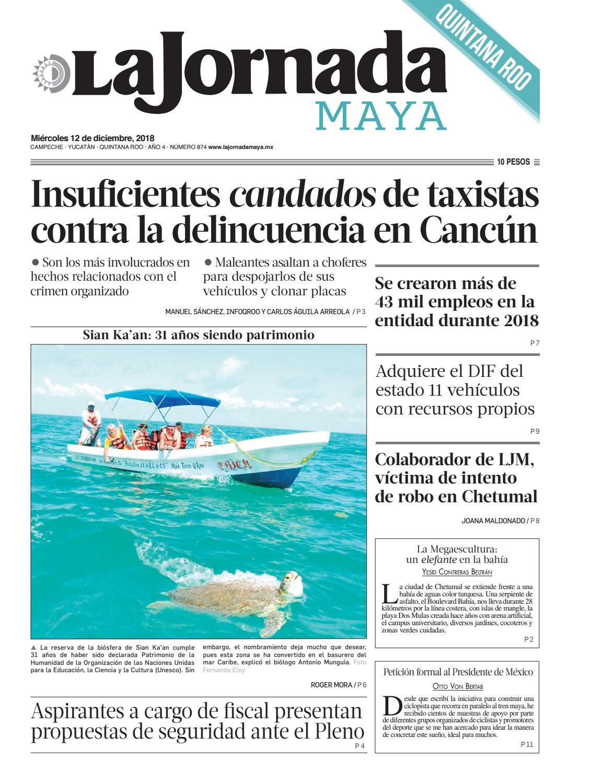 La Jornada Maya · miércoles 12 de diciembre de 2018 by La Jornada ...