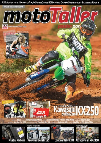 Mototaller 270 Noviembre 2018 By Cei Arsis S L Issuu