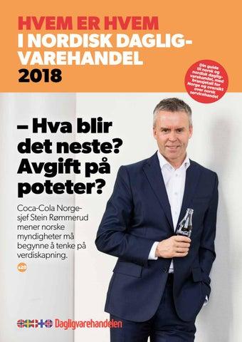 6d0a4fb5 Hvem er hvem 2018 by Dagligvarehandelen - issuu