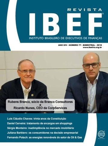 Revista IBEF 77 Dez Jan by IBEF Rio de Janeiro - issuu df5e377a8b