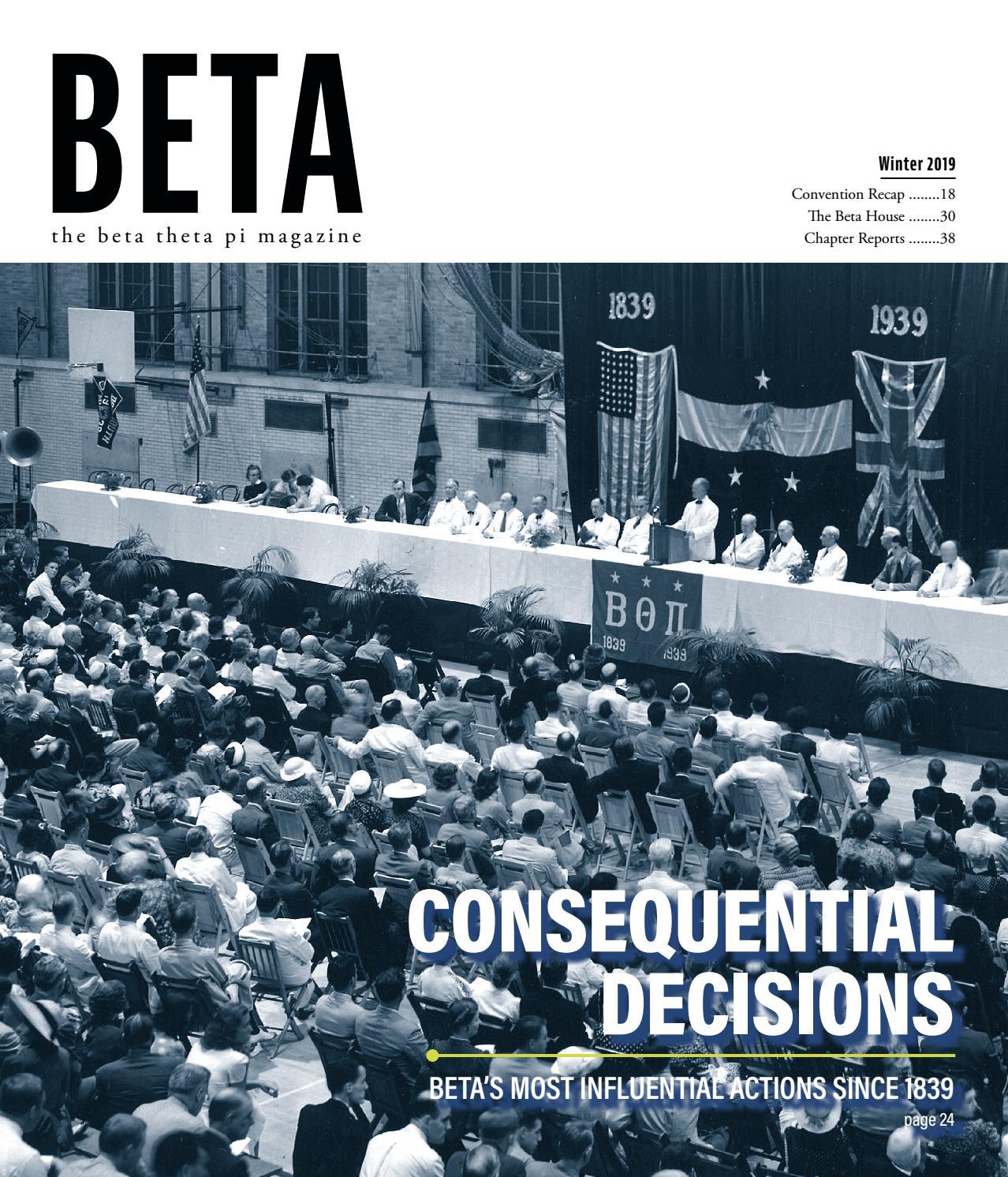 12ad509444d6 The Beta Theta Pi - Winter 2019 by Beta Theta Pi - issuu