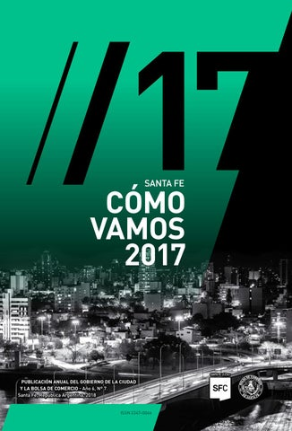 Santa Fe Cómo Vamos 2017 By Santa Fe Ciudad Issuu