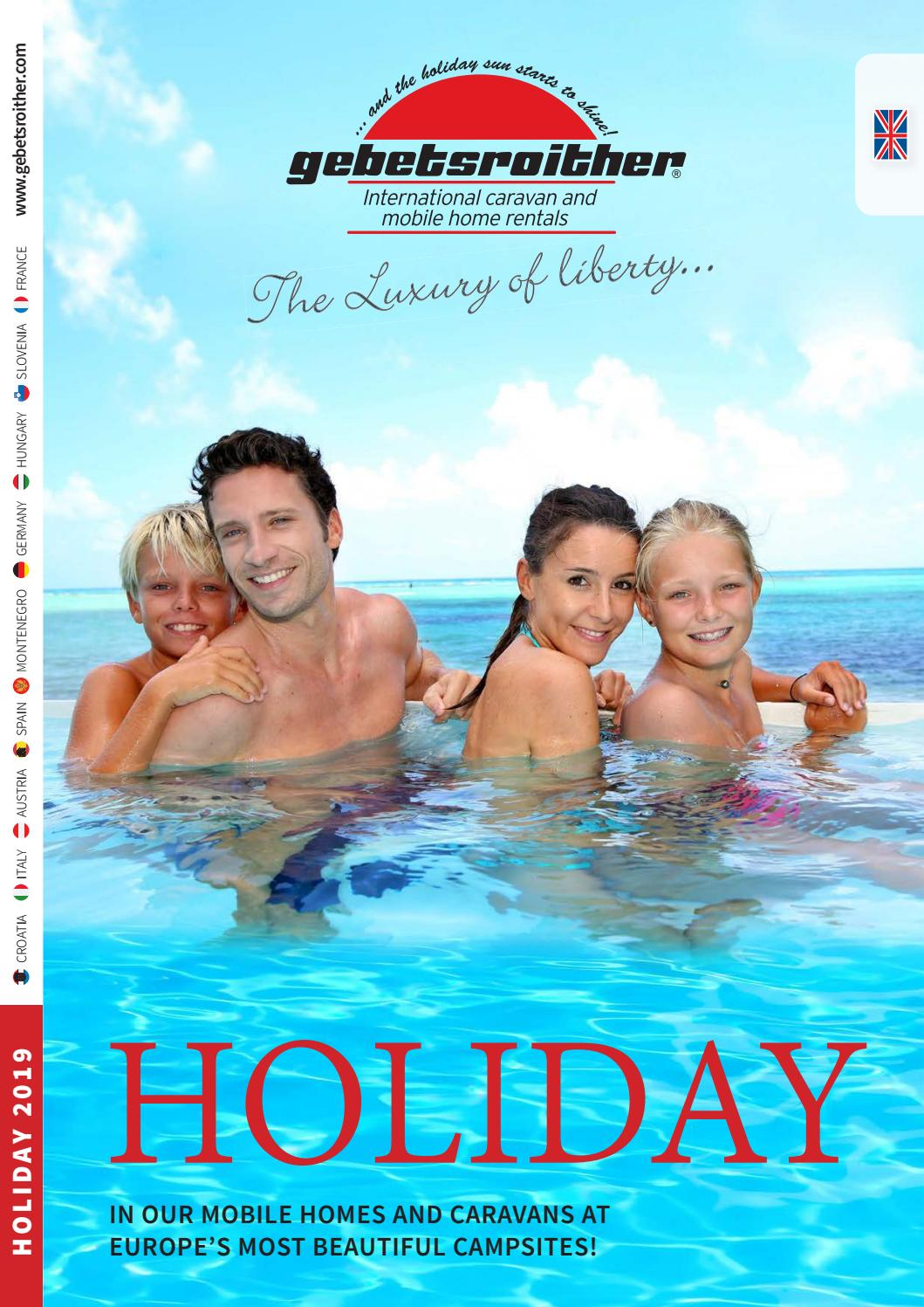 Holiday 2019 by Gebetsroither Unternehmensgruppe - issuu