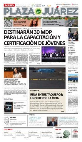 12-12-18 by Diario Plaza Juárez - issuu c1a633f783c8