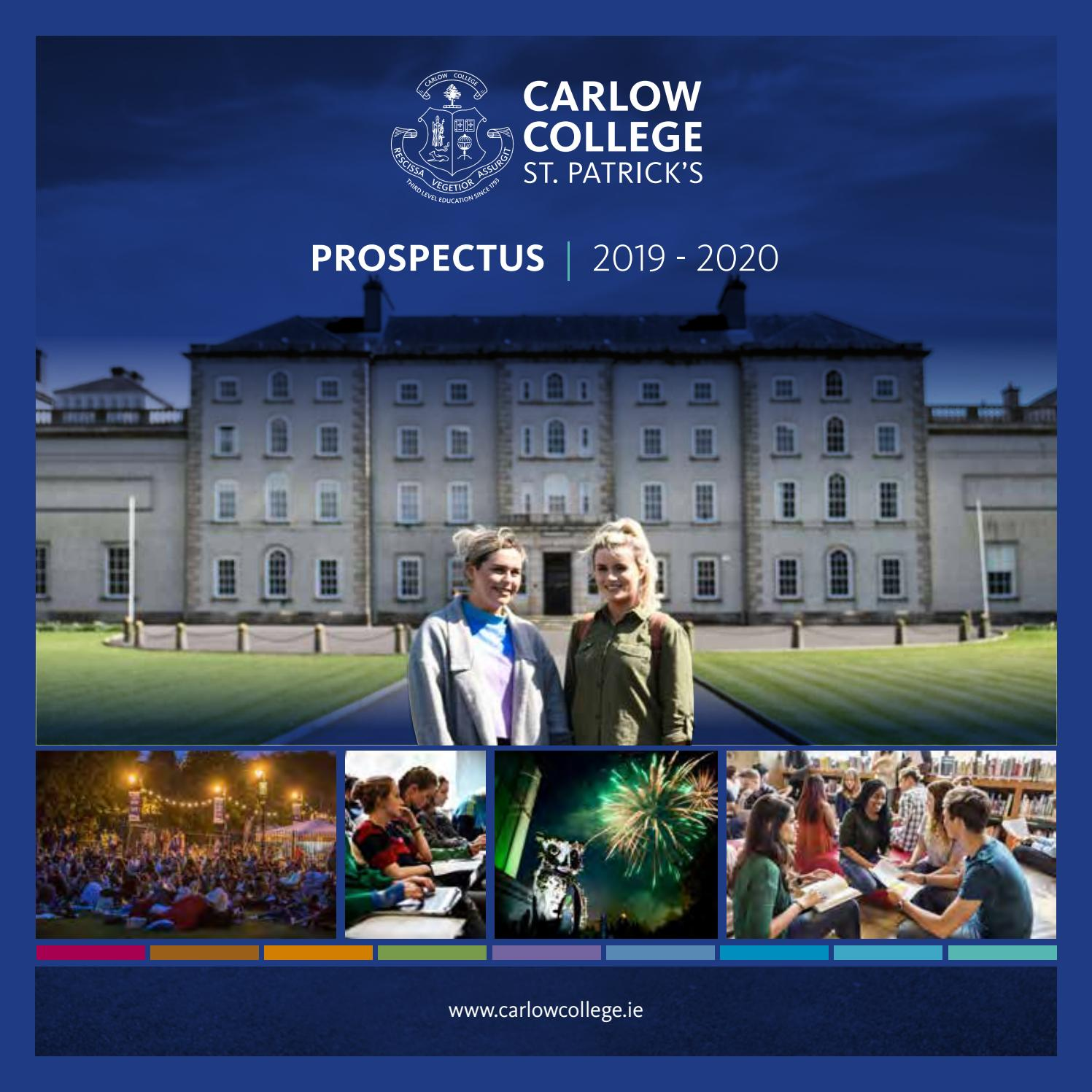 Registration, Induction & Fees - IT Carlow