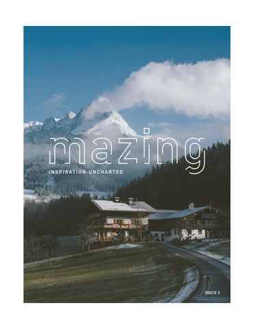 Page 1 of Glimpse of Mazing Issue 5