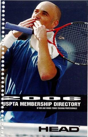 USPTA Membership Directory 2006 by USPTA - issuu