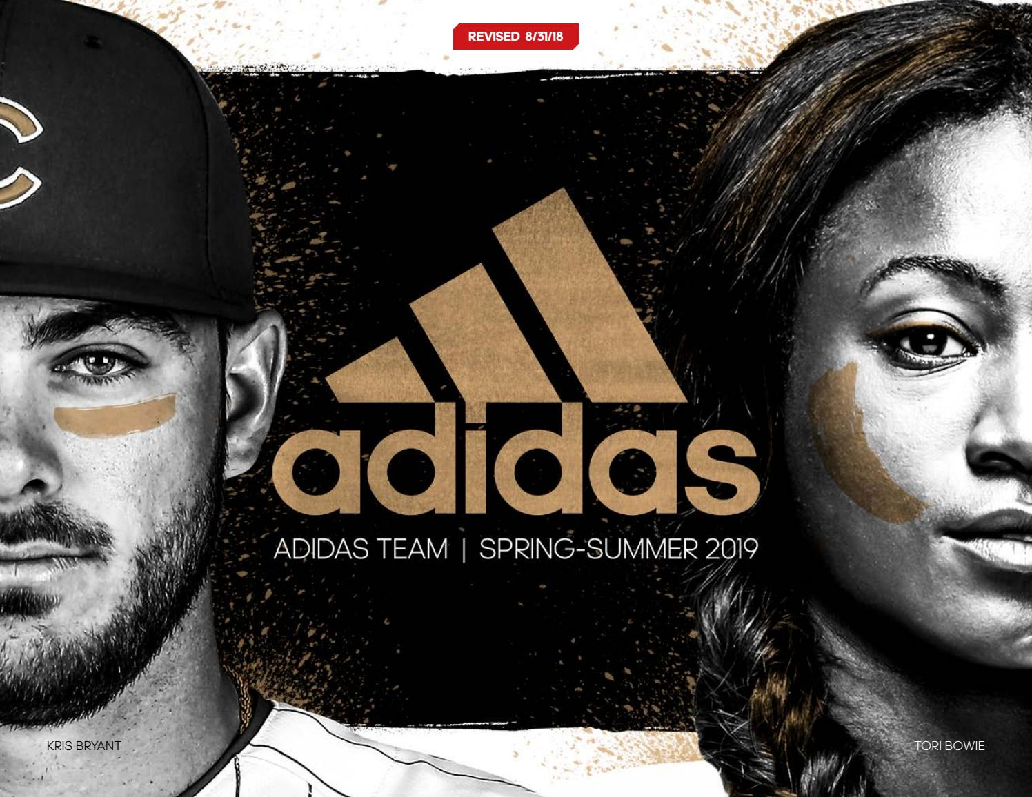 Adidas Team Spring 2019 Catalog by Team Connection issuu